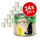 Feringa Organic Adult 24 x 200 g Kattenvoer