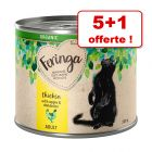 Feringa Organic bio Adult 5 x 200 g pour chat + 1 boîte offerte !