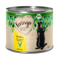 Feringa Organic bio Kitten 6 x 200 g pour chaton