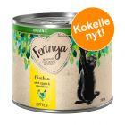 Feringa Organic Kitten 6 x 200 g kokeiluhintaan!