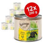 Feringa Pure Meat Kitten 12 x 200 g Alimento umido per gatti