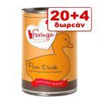 20 + 4 Δωρεάν! Feringa Pure Meat Menu 24 x 410 g