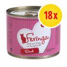 Feringa Vlees-Menu Probeerpakket Kattenvoer 18 x 200 g