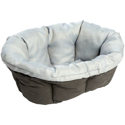 Ferplast Blue Tweed Sofa Cover for Siesta Deluxe Dog Basket