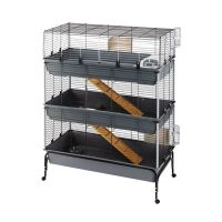 Ferplast Vital 3-Tier Small Pet Cage 120
