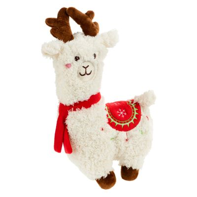 Festive Alpaca Dog Toy