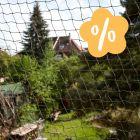 Filet de protection pour chat avec renfort en fil de fer : 10 % de remise !