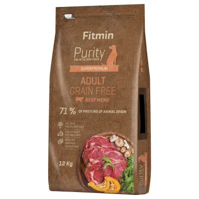 Fitmin dog Purity Adult Beef bezobilné