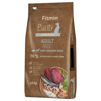 Fitmin dog Purity Rice Adult Fish & Venison