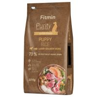 Fitmin Dog Purity Rice Puppy, jagnięcina z łososiem