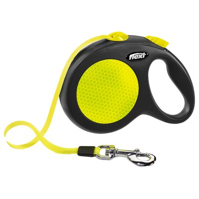 flexi Neon Reflect Dog Lead - Large 5m
