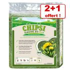 Foin de prairie Chipsi Sunshine Bio Plus 2 x 600 g + 600 g offerts !