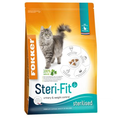 Fokker Cat Steri-Fit Kattenvoer