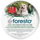 Foresto 1,25 g + 0,56 g obojek pro kočky a psy ≤ 8 kg