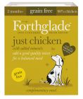 Forthglade Just Grain-Free Natural Wet Dog Food - Just Chicken