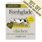 Forthglade Complete Meal Grain Free Adult Dog - Chicken