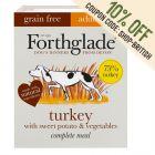 Forthglade Complete Meal Grain Free Adult Dog - Turkey