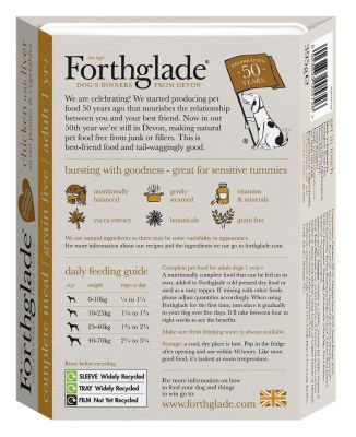 Forthglade Complete Meal Grain-Free Adult Dog – Poultry Case