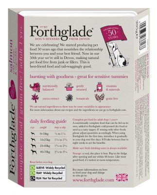 Forthglade Complete Meal Grain-Free Adult Dog - Salmon