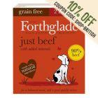 Forthglade Just Grain-Free Natural Wet Dog Food - Just Beef