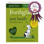 Forthglade Just Grain-Free Natural Wet Dog Food - Just Lamb