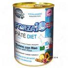 Forza10 Diet Paté Tonno con Riso Alimento umido per cani