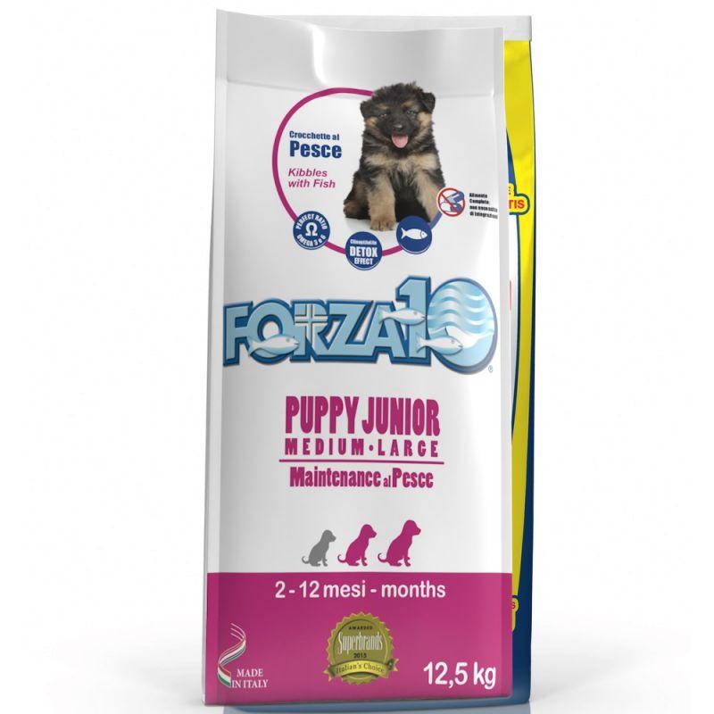 Forza10 Maintenance Puppy Junior al Pesce M/L