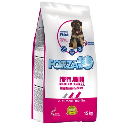 Forza10 Puppy Junior con pescado