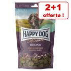 Friandises Happy Dog Soft Snack pour chien 2 x 100 g + 100 g offerts !