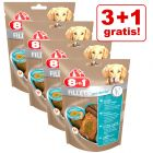 Friandises 8in1 : 3 paquets + 1 paquet offert !
