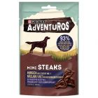 Friandises PURINA AdVENTuROS Mini Steaks, cerf