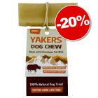 Friandises YAKERS Dog Chew : 20 % de remise !