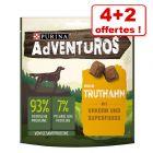 Friandises ADVENTUROS, céréales anciennes 4 x 90 g + 2 x 90 g offertes !