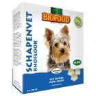 Friandises Biofood Graisse de mouton & ail (mini) pour chien