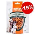Friandises Boxby 80 à 360 g : 15 % de remise !