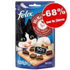 Friandises Felix Mini Filetti 2 x 40 g : - 68 % sur le 2ème paquet !