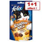 Friandises Felix Party Mix pour chat 60 g + 60 g offerts !