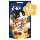 Friandises Felix Party Mix 6 x 60 g + 3 x 60 g offerts !