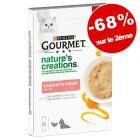 Friandises Gourmet Nature's Creations 2 x 5x10g : - 68 % sur le 2ème paquet !