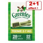 Friandises Greenies Soin dentaire pour chien 2 paquets + 1 paquet offert !