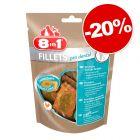 Friandises 8in1 Fillets taille S 80 g pour chien : 20 % de remise !