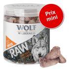 Friandises lyophilisées premium Wolf of Wilderness à prix spécial !