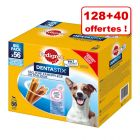Friandises Pedigree Dentastix 128 + 40 friandises offertes !