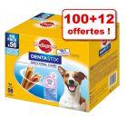 Friandises Pedigree Dentastix 100 + 12 offertes !