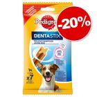 Friandises Pedigree Dentastix pour chien : 20 % de remise !