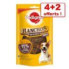 Friandises Pedigree Ranchos Original Cuts 4 x 65 g + 2 x 65 g offerts !