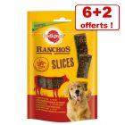 Friandises Pedigree Ranchos Slices pour chien 6 x 60 g + 2 x 60 g offerts !