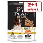 Friandises PRO PLAN pour chien 2 x 150/400 g + 1 paquet offert !