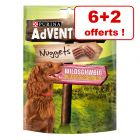Friandises PURINA AdVENTuROS Nuggets 6 x 300 g + 2 paquets offerts !