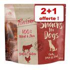Friandises Purizon pour chien 2 x 100 g + 100 g offerts !